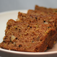 Zucchini Bread baked and delivered to your Boulder location